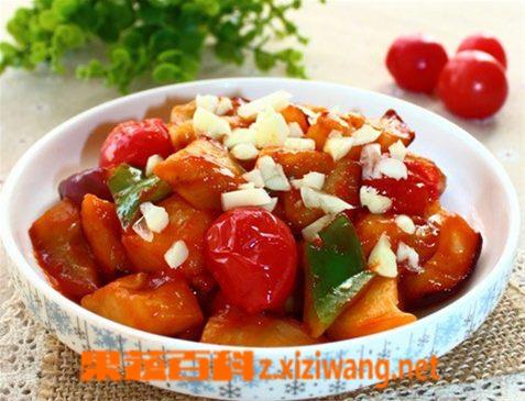 果蔬百科西红柿烧茄子的做法